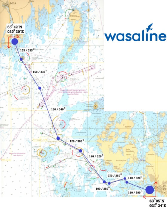 Route Map Wasaline